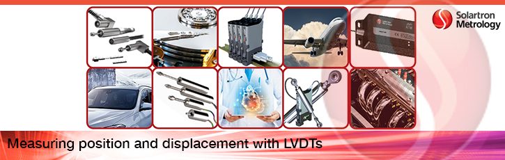Measuring position and displacement with LVDTs