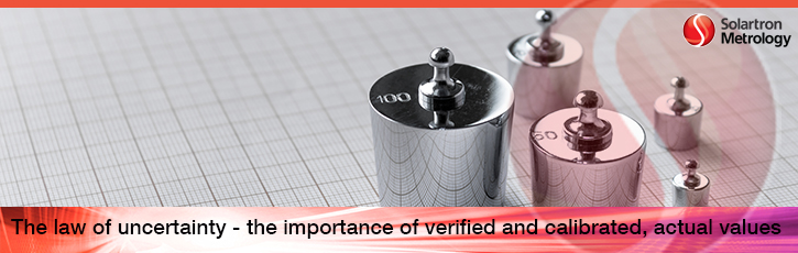 The importance of calibration verification and actual values